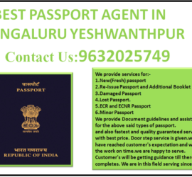 BEST PASSPORT AGENT IN BENGALURU YESHWANTHPUR 9632025749