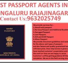 BEST PASSPORT AGENTS IN BENGALURU RAJAJINAGAR 9632025749