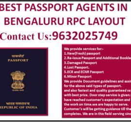 BEST PASSPORT AGENTS IN BENGALURU RPC LAYOUT 9632025749
