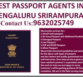 BEST PASSPORT AGENTS IN BENGALURU SRIRAMPURA 9632025749