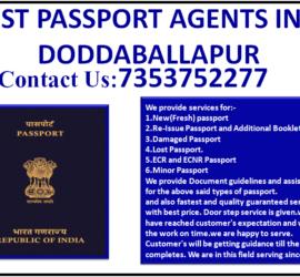 BEST PASSPORT AGENTS IN DODDABALLAPUR 7353752277