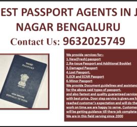 BEST PASSPORT AGENTS IN JP NAGAR BENGALURU 9632025749