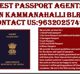 BEST PASSPORT AGENTS IN KAMMANAHALLI BLR 9632025749