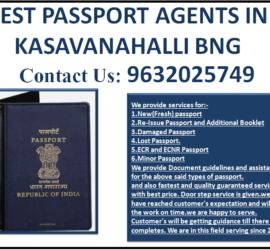 BEST PASSPORT AGENTS IN KASAVANAHALLI BNG 9632025749