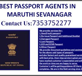 BEST PASSPORT AGENTS IN MARUTHI SEVANAGAR