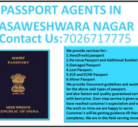 PASSPORT AGENTS IN BASAWESHWARA NAGAR