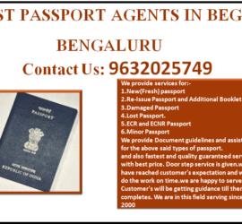 BEST PASSPORT AGENTS IN BEGUR BENGALURU 9632025749