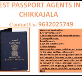BEST PASSPORT AGENTS IN CHIKKAJALA 9632025749