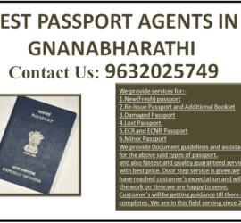 BEST PASSPORT AGENTS IN GNANABHARATHI 9632025749