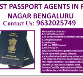 BEST PASSPORT AGENTS IN R T NAGAR BENGALURU 9632025749