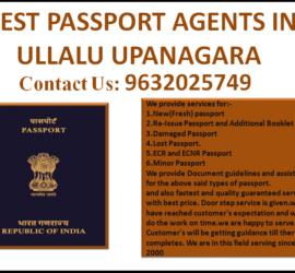 BEST PASSPORT AGENTS IN ULLALU UPANAGARA 9632025749