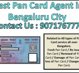 Best Pan Card Agent in Bengaluru City 9071767773