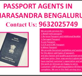 BEST PASSPORT AGENTS IN MARASANDRA BENGALURU 9632025749