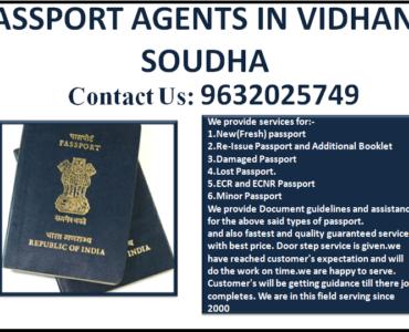 BEST PASSPORT AGENTS IN VIDHANA SOUDHA 9632025749