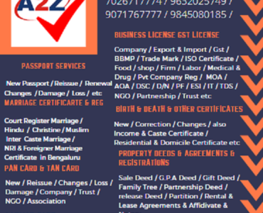 Best Attestation Services in Bangalore 9071767775