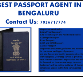 BEST PASSPORT AGENT IN BENGALURU 7026717774