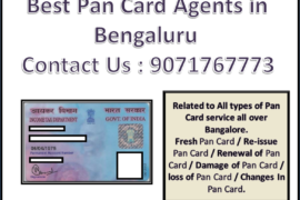Best Pan Card Agents in Bengaluru 9071767773
