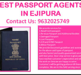 BEST PASSPORT AGENTS IN EJIPURA 9632025749