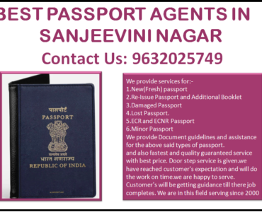 BEST PASSPORT AGENTS IN SANJEEVINI NAGAR 9632025749