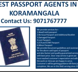 Best Passport Agents in Koramangala Bengaluru