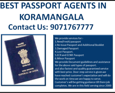 Best Passport Agents in Koramangala Bengaluru
