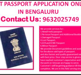 Best Passport Application Online In Bengaluru 9632025749