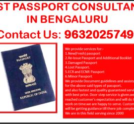 BEST PASSPORT CONSULTANCY IN BENGALURU 9632025749