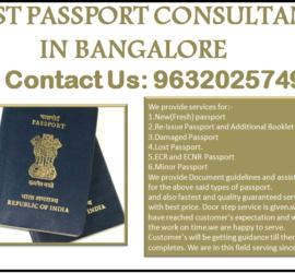 BEST PASSPORT CONSULTANT IN BANGALORE 9632025749