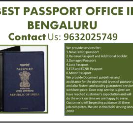 Best Passport Office in Bengaluru 9632025749