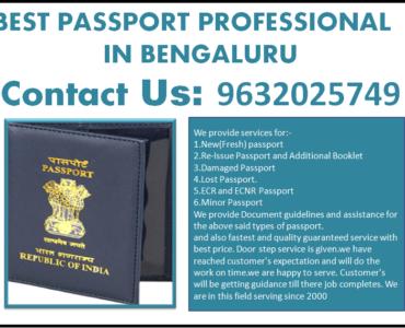 BEST PASSPORT PROFESSIONAL IN BENGALURU 9632025749