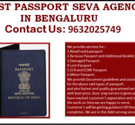 BEST PASSPORT SEVA AGENCY IN BENGALURU 9632025749