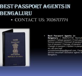 Best passport agents in bengaluru