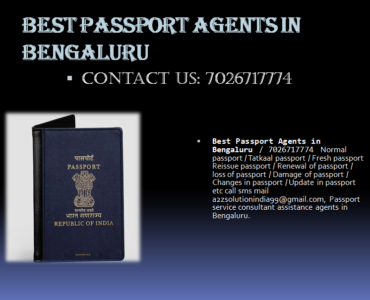 Best passport agents in bengaluru