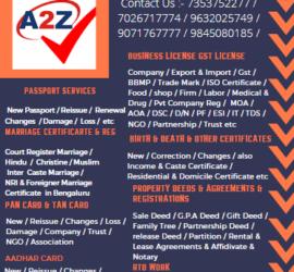 Best Tatkaal Passport Agents in Bengaluru 7026717775
