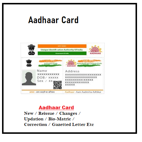 Aadhaar Card 456