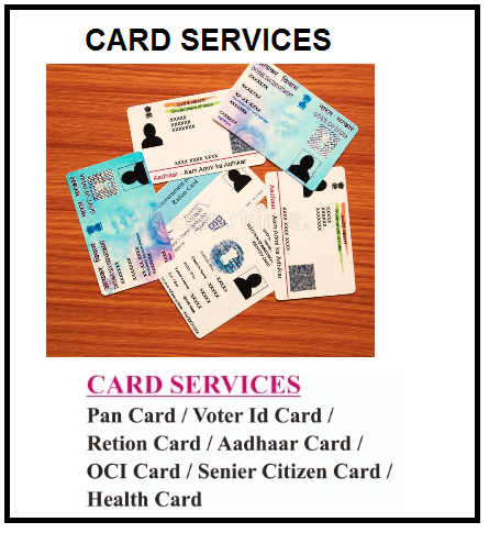 CARD SERVICES 411